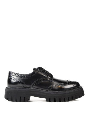 Dolce & Gabbana: lace-ups shoes - Maxi sole leather Derby brogues