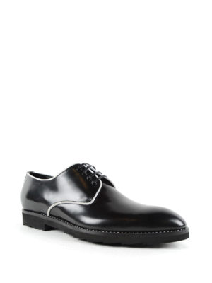 Dolce & Gabbana: lace-ups shoes online - Contrasting piping derby shoes