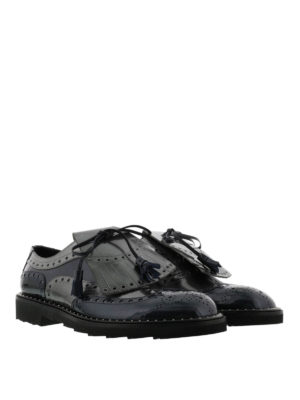 Dolce & Gabbana: lace-ups shoes online - Patent leather brogues