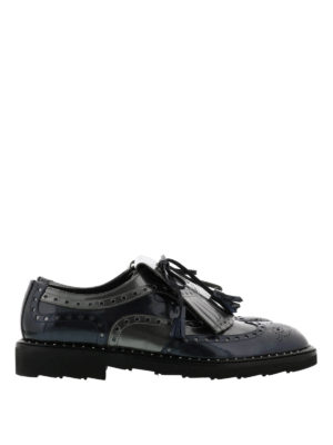 Dolce & Gabbana: lace-ups shoes - Patent leather brogues