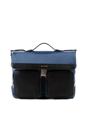 Dolce & Gabbana: laptop bags & briefcases - Nylon and leather briefcase