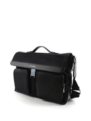 Dolce & Gabbana: laptop bags & briefcases online - Nylon and leather briefcase