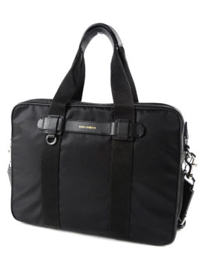 Dolce & Gabbana: laptop bags & briefcases online - Technical fabric briefcase