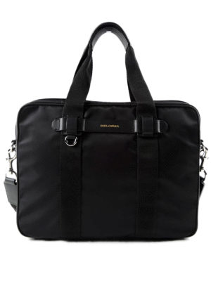 Dolce & Gabbana: laptop bags & briefcases - Technical fabric briefcase