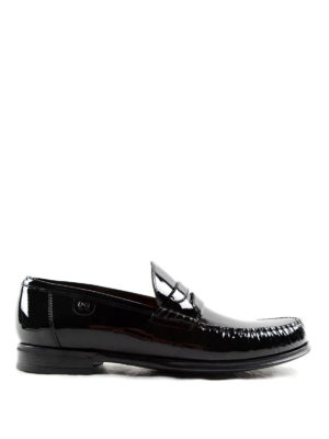 Dolce & Gabbana: Loafers & Slippers - Genova patent leather loafers