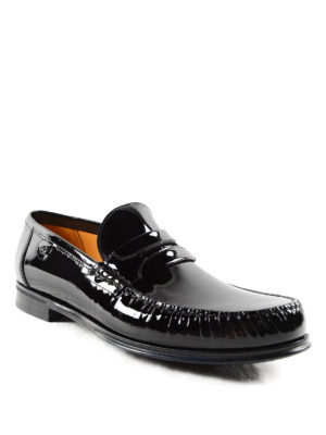 Dolce & Gabbana: Loafers & Slippers online - Genova patent leather loafers