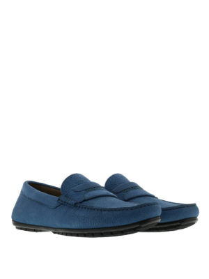 Dolce & Gabbana: Loafers & Slippers online - Hammered leather loafers
