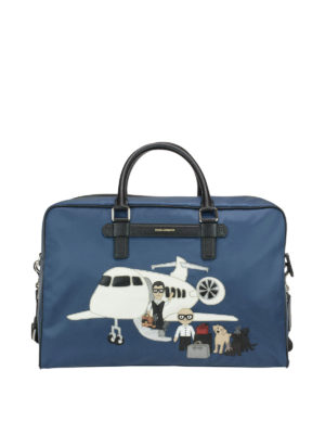 Dolce & Gabbana: Luggage & Travel bags - Designer patch bag