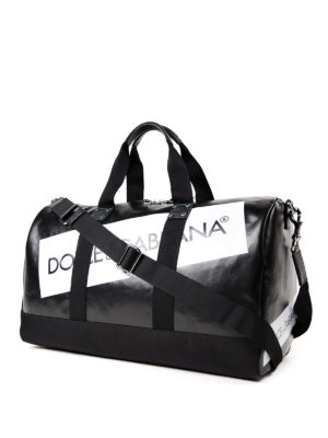 Dolce & Gabbana: Luggage & Travel bags online - Boston logo detailed duffle bag