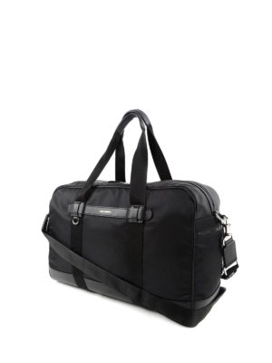 Dolce & Gabbana: Luggage & Travel bags online - Boston nylon and leather travel bag