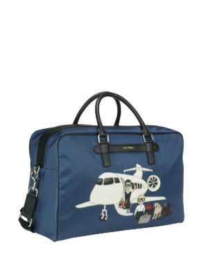 Dolce & Gabbana: Luggage & Travel bags online - Designer patch bag