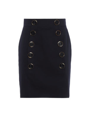 Dolce & Gabbana: mini skirts - Jewelled button mini skirt