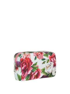 DOLCE & GABBANA: custodie e cover online - Beauty case con stampa floreale