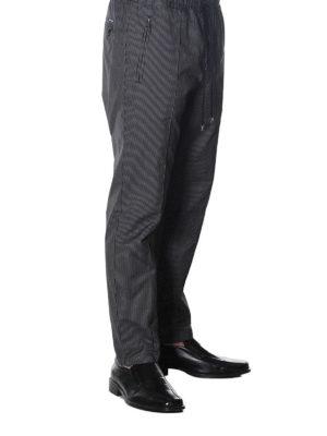 DOLCE & GABBANA: pantaloni casual online - Pantaloni in cotone gessato