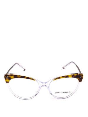 DOLCE & GABBANA: Occhiali online - Occhiali da sole a occhi di gatto animalier