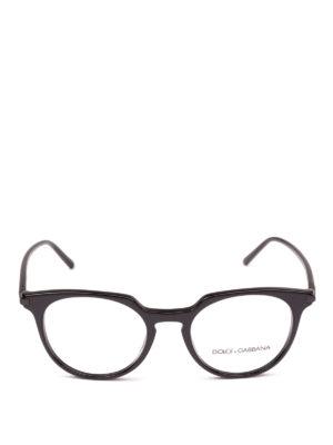 DOLCE & GABBANA: Occhiali online - Occhiali da vista in acetato nero