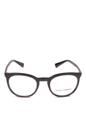 DOLCE & GABBANA: Occhiali online - Occhiali da vista pantos neri