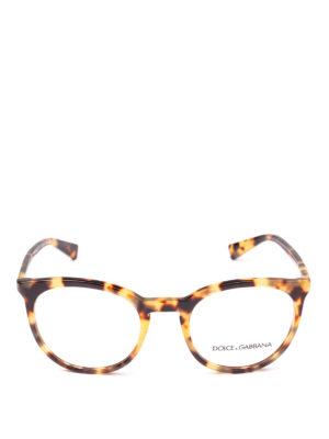 DOLCE & GABBANA: Occhiali online - Occhiali da vista pantos avana