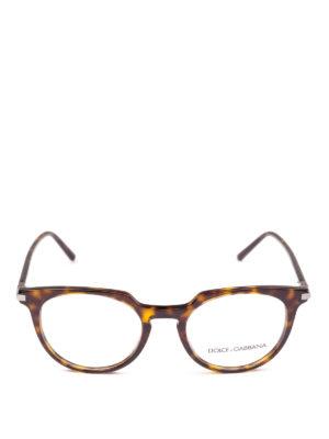 DOLCE & GABBANA: Occhiali online - Occhiali da vista in acetato tartarugato
