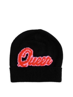 DOLCE & GABBANA: cappelli online - Cappello Queen in cashmere