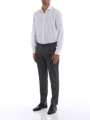 DOLCE & GABBANA: Pantaloni sartoriali online - Pantaloni eleganti in cotone e lana