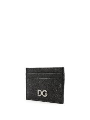 DOLCE & GABBANA: portafogli online - Portacarte gioiello in Dauphine