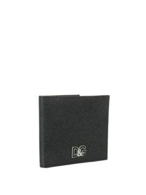 DOLCE & GABBANA: portafogli online - Portafoglio D&G in pelle Dauphine