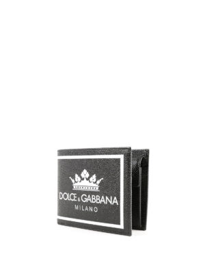 DOLCE & GABBANA: portafogli online - Portafoglio Milano pelle Dauphine