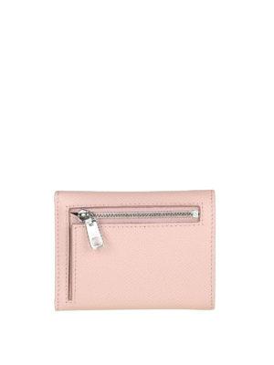 DOLCE & GABBANA: portafogli online - Portafoglio rosa pallido con logo gioiello