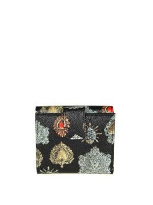 DOLCE & GABBANA: portafogli online - Portafoglio con stampa cuori sacri