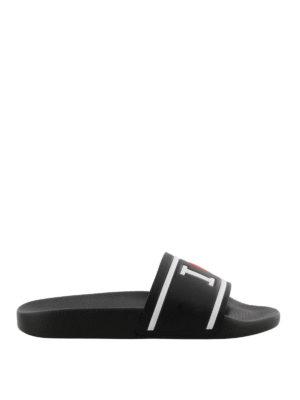 Dolce & Gabbana: sandals - Saint Barth slide sandals