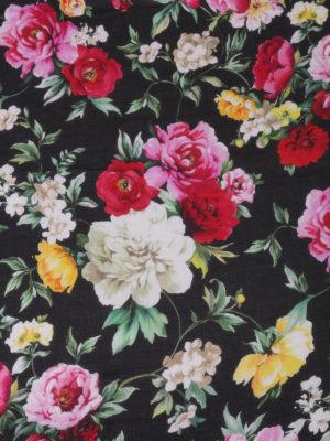 Dolce & Gabbana: scarves online - Floral patterned soft scarf