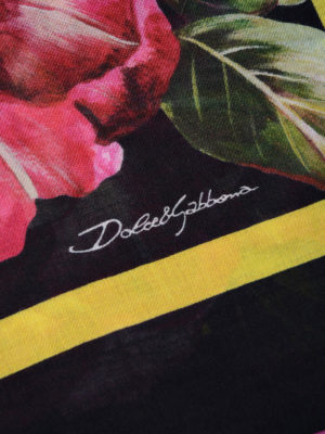 Dolce & Gabbana: scarves online - Printed modal and cashmere scarf