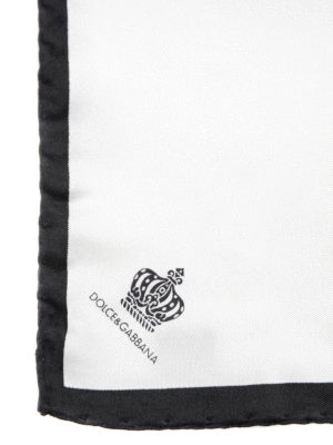 Dolce & Gabbana: scarves online - Silk pocket square