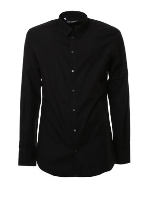 Dolce & Gabbana: shirts - Cotton poplin shirt