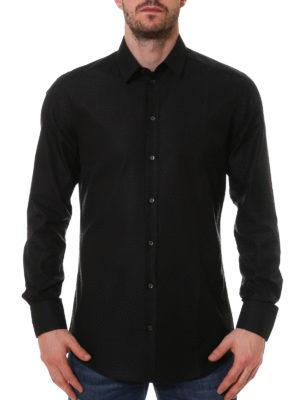 Dolce & Gabbana: shirts online - Diamond patterned cotton shirt