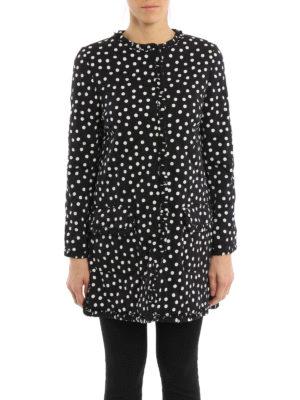 Dolce & Gabbana: short coats online - Polka dot short coat
