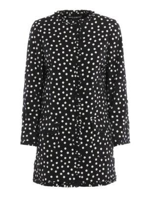 Dolce & Gabbana: short coats - Polka dot short coat