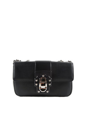 Dolce & Gabbana: shoulder bags - Brushed leather Lucia shoulder bag