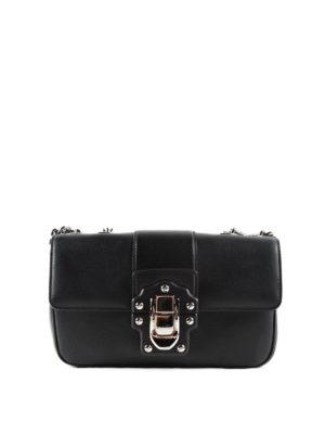 Dolce & Gabbana: shoulder bags - Brushed leather Lucia shoulder bag