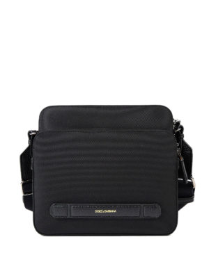 Dolce & Gabbana: shoulder bags - Cordura messenger bag