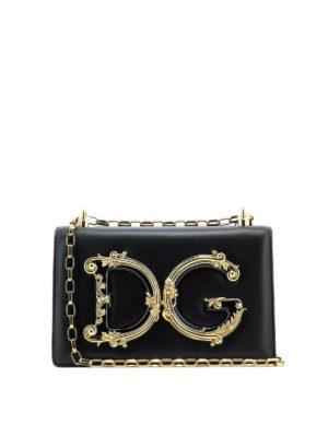 00b2233a3966 DOLCE   GABBANA  borse a spalla - Borsa DG Girls in nappa. New season. Dolce    Gabbana. DG Girls nappa leather shoulder bag
