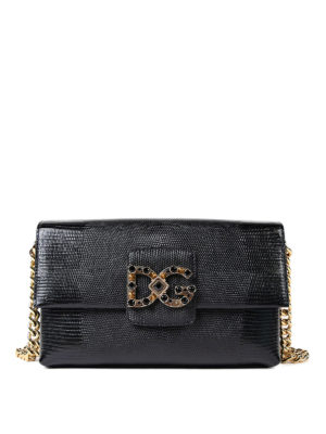 Dolce & Gabbana: shoulder bags - DG Millennials jewel shoulder bag