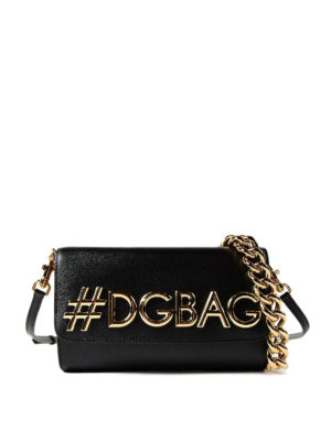 Dolce & Gabbana: shoulder bags - DG Millennials small shoulder bag