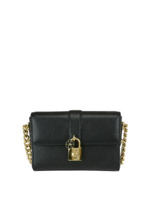 Dolce & Gabbana: shoulder bags - Dolce bag with flower charm