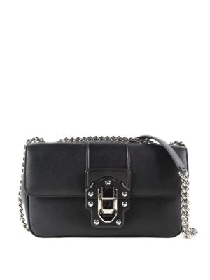 Dolce & Gabbana: shoulder bags - Lucia smooth leather shoulder bag