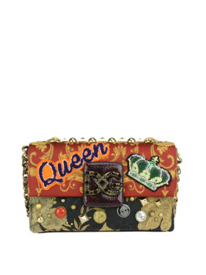 Dolce & Gabbana: shoulder bags - Millennials jacquard shoulder bag