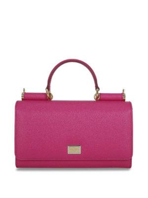 Dolce & Gabbana: shoulder bags - Miss Sicily small shoulder bag