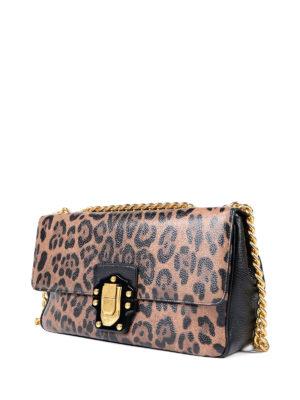 Dolce & Gabbana: shoulder bags online - Lucia printed leather handbag