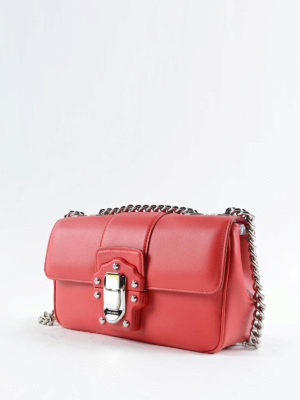 Dolce & Gabbana: shoulder bags online - Lucia smooth leather shoulder bag